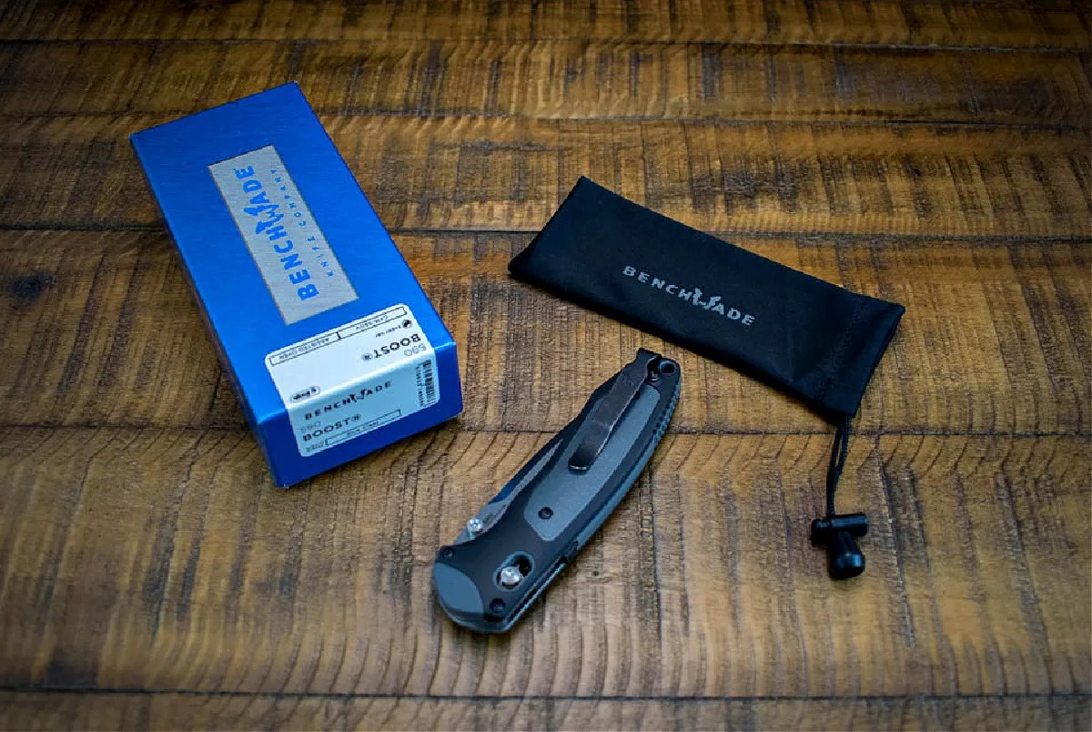 Benchmade Boost 590 unboxing