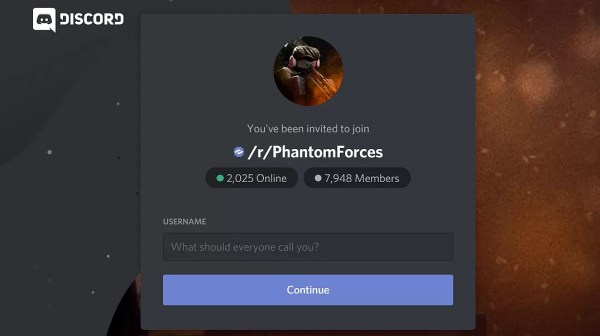 Phantom Forces Discord via Reddit