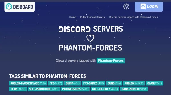 Phantom Forces Discord
