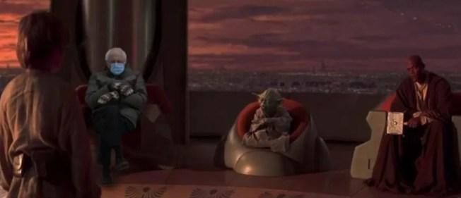 Bernie at the Jedi Council