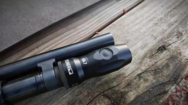 Steiner Mk7 shotgun light