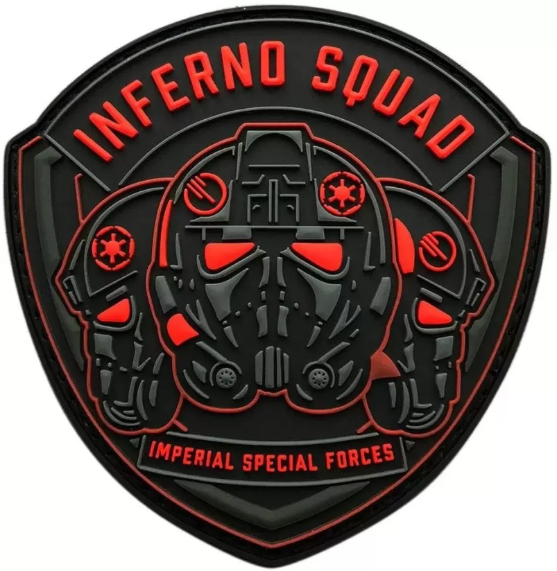 Imperial Special Forces Shield Patch