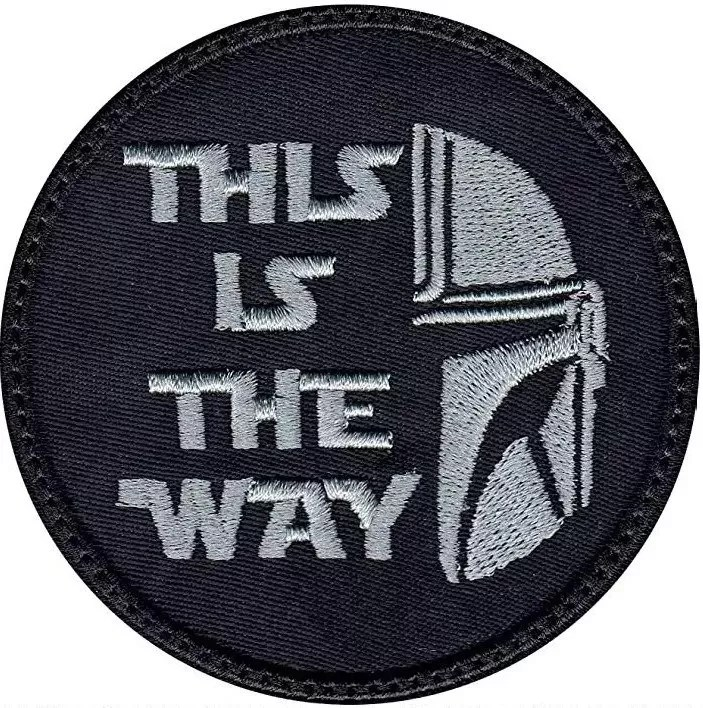"""""""This is the way"""" Mandolorian Patch"""