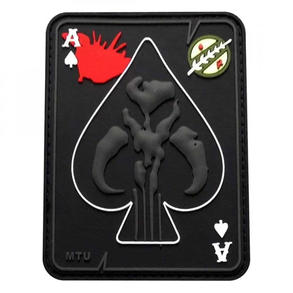 Star Wars patches: the Mandalorian emblem
