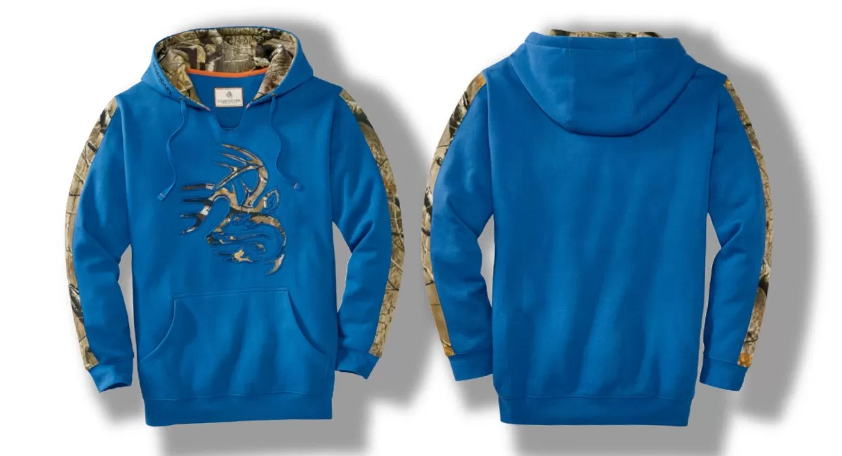 Legendary Whitetails Realtree hoodie. Camo hoodie review.