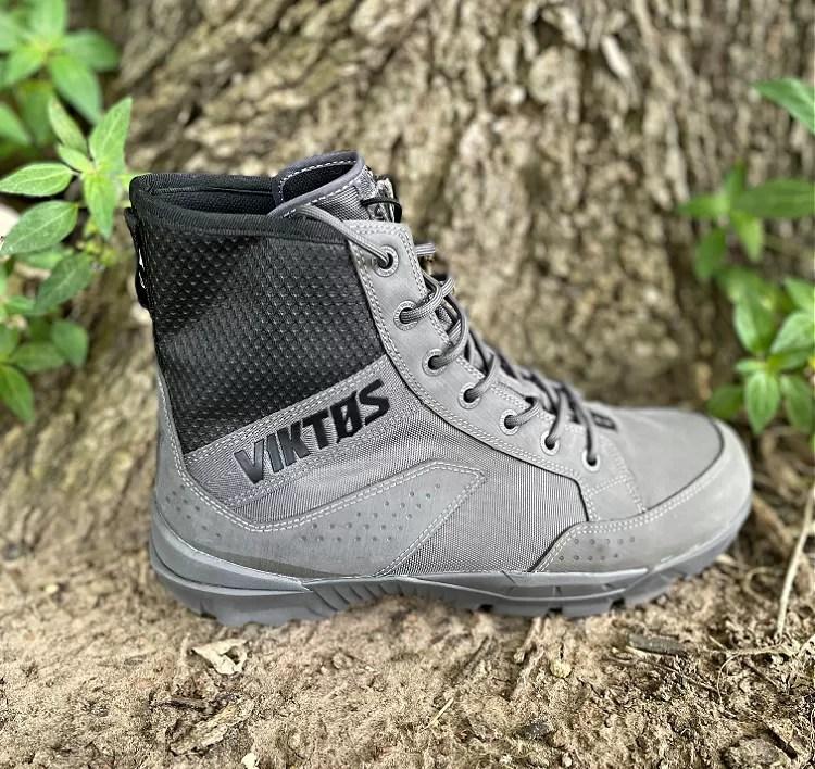 VIKTOS Johnny Combat Waterproof Boot, grey