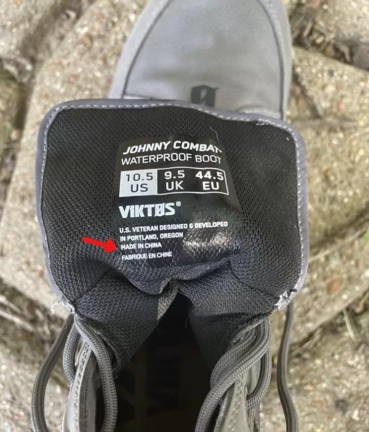 VIKTOS Johnny Combat Waterproof Boot