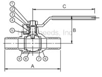 Legend PEX Ball Valves T-806 101-585NL. Hydronic Heating