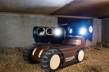 床下点検ロボ「モーグル」