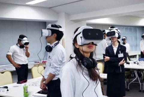 VR研修の様子