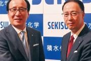 高下社長(左)と加藤専務