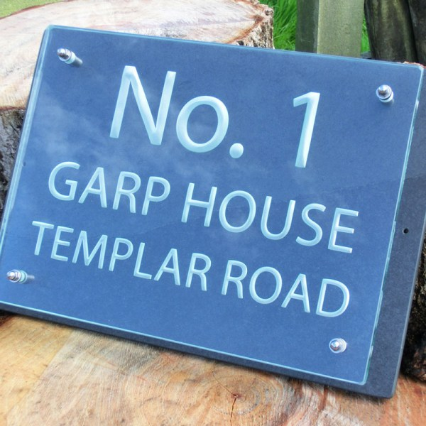 Bespoke House Number Plaques 04