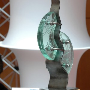 Glass-Steel-Presentation-Award-Uk-Community-Tim-Carter