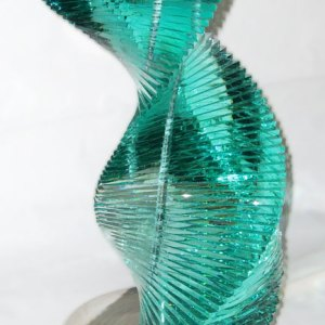rolls-royce-managing-directors-quality-award-glass-stainless-steel-sculpture