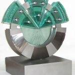 rolls-royce-process-excellence-award-glass-stainless-steel-sculpture