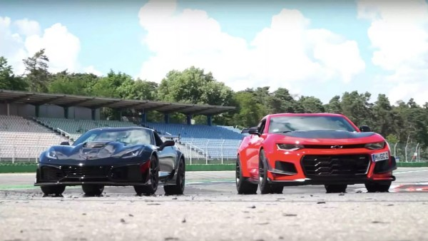 Chevrolet Corvette ZR1 Vs Camaro ZL1 LE American Muscle Cars