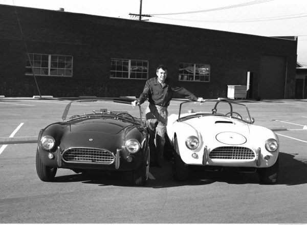 carroll-shelby with 2 cobras