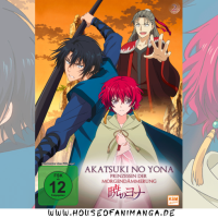 Anime Review: Akatsuki no Yona – Prinzessin der Morgendämmerung Volume 2