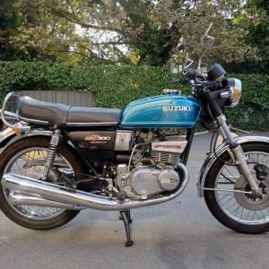 SUZUKI GT 380 anni 70