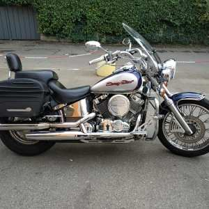 YAMAHA DRAGSTAR 650 anno 1997 FULL OPTIONAL