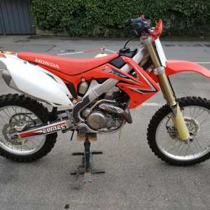 HONDA CRF 450 R anno 2009