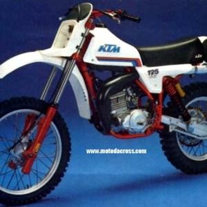 KTM 125 RV anno 1981 CERCHIO POSTERIORE