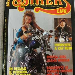 """RIVISTA """" BIKERS LIFE """"  n.4 Aprile 1996"""