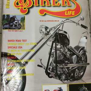 "RIVISTA MOTO "" BIKERS LIFE ""n.9 Mese Settembre 1998"