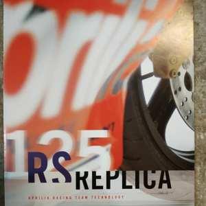 APRILIA RS 125 REPLICA DEPLIANT ORIGINALE