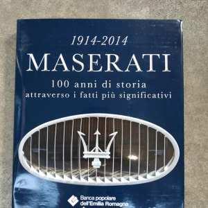 LIBRO MASERATI 1914-2014 – 100 ANNI DI STORIA