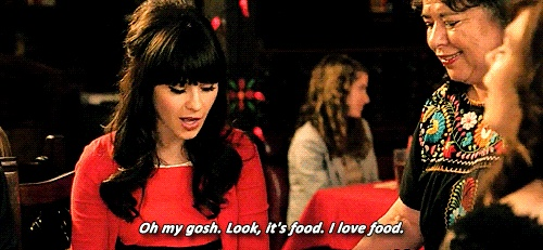 New girl - women - weight loss - food relationship