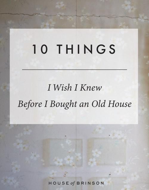 small resolution of 10 things i wish i knew before buying an old house