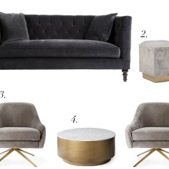 Swivel Chair West Elm Folding Adirondack Plans Lee Valley Furniture Shopping At Rejuvenation House Of Brinson Geo Hex Side Table Slate Collection 3 Roar Rabbit 4 Marble Metal Drum Coffee
