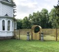 How To Build A Wooden Lattice Fence House Of Brinson