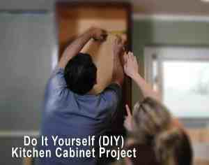 Do It Yourself (DIY) Kitchen Cabinet Project
