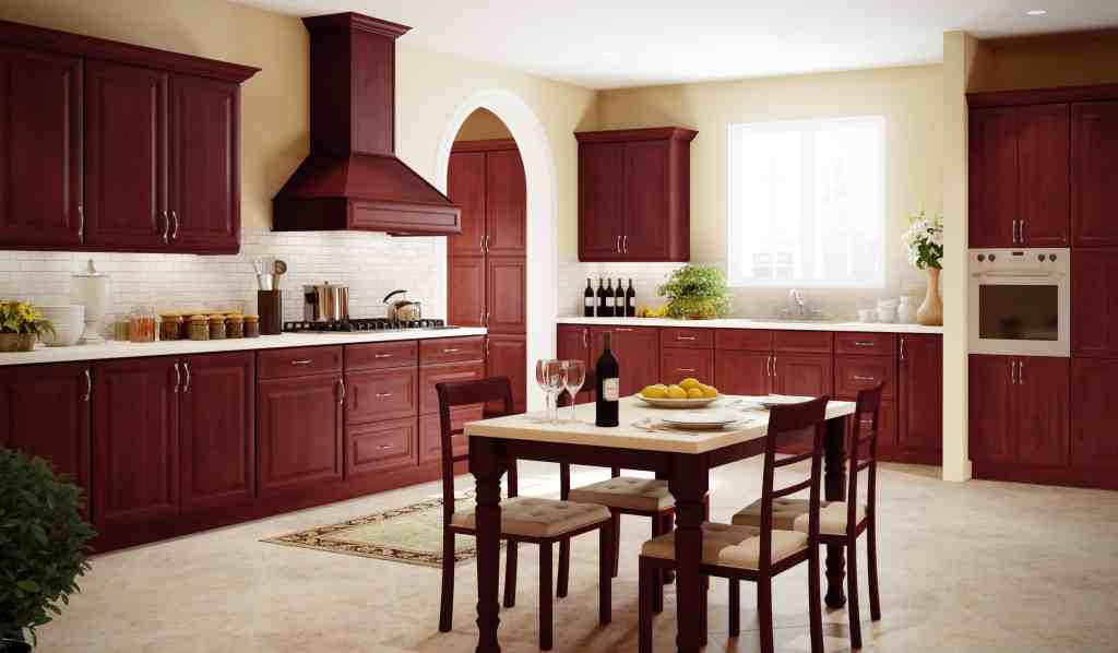 Do it yourself diy kitchen cabinet project do it yourself cherry colored kitchen cabinets fitted cherry glaze kitchen cabinet door style diy kitchen cabinet projects solutioingenieria Images