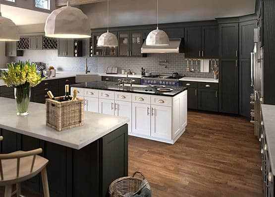 How to choose styles and color for kitchen cabinets?