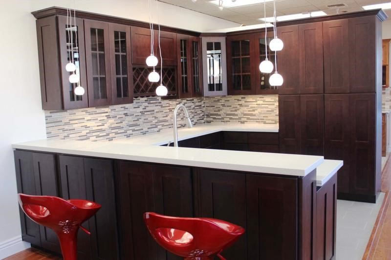 Espresso Kitchen Cabinets | Cool And Sleek Designs For Your Espresso Kitchen Cabinets Featured