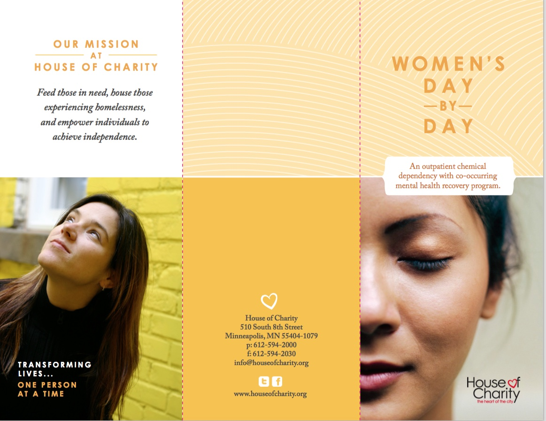 Program Brochures House Of Charity