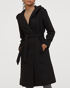 Wool-blend Coat - $79.99 US