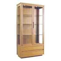 214540 Classic Teak Curio Cabinet