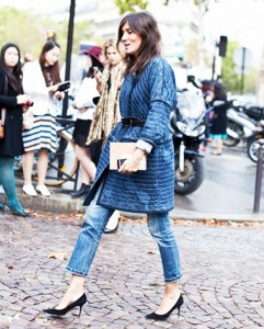 With belted outerwear