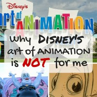 Why Disney's Art of Animation is Not For Me