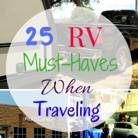 25 RV Must Haves When Traveling