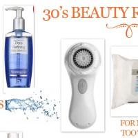30's Skincare