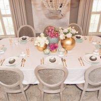 EASTER BRUNCH TABLESETTING