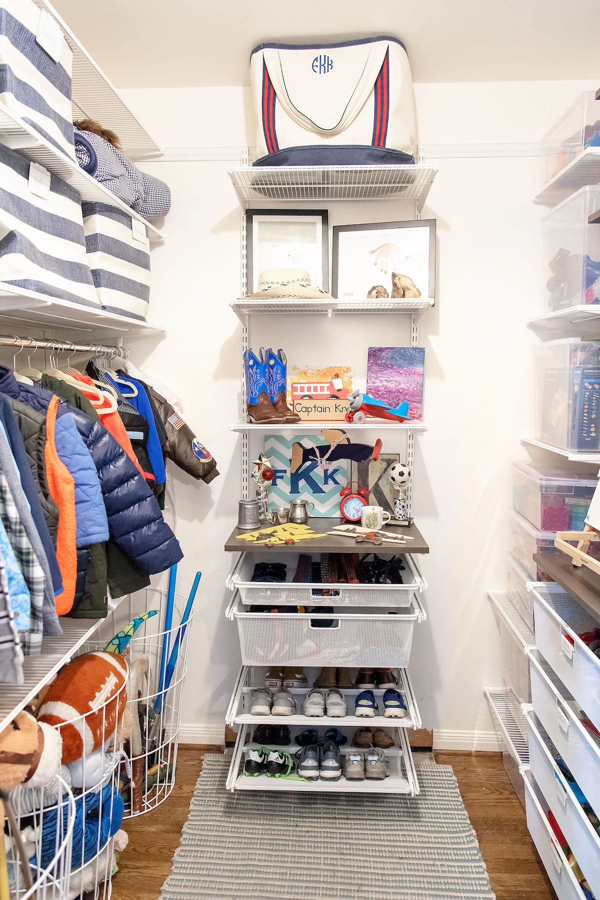 The Boys Closet Makeover By The Neat Method It S So Good