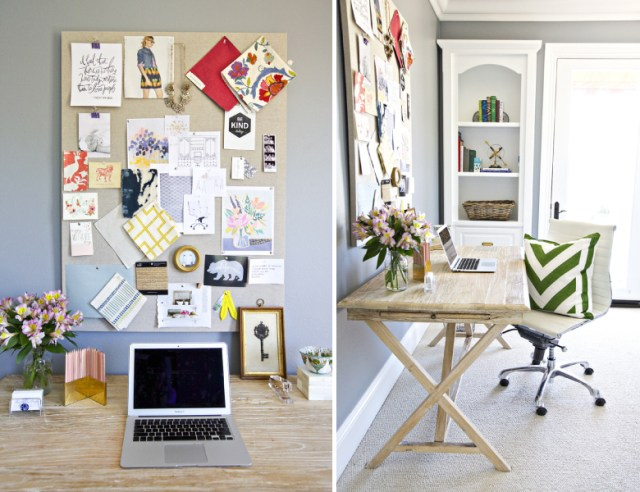 Shea McGee stylish workspace