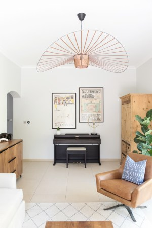 TV Room image featuring ceiling light