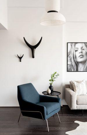 Bachelor's Apartment Living Room